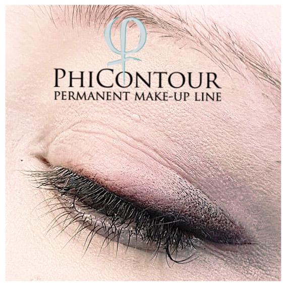 Permanent Make-up Eyeliner Shading von Margret Beckedorf