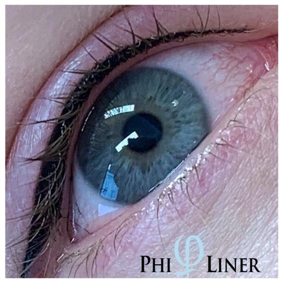 Nachher-Bild von Permanent Make-up - Lidstrich per PhiLiner