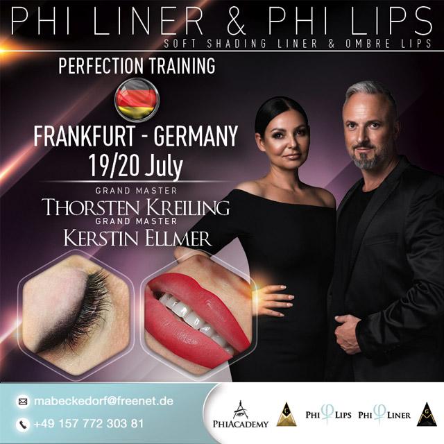 Plakat PhiLiner & PhiLips Training in Frankfurt am 19. und 20.07.2019