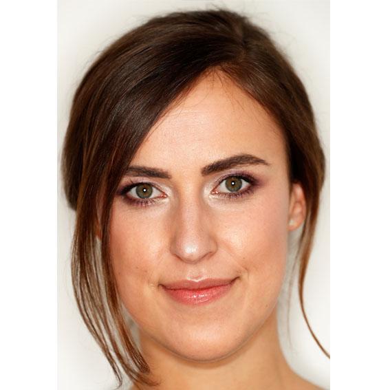 Nachher-Bild Braut-Make-up von Kosmetik à la carte