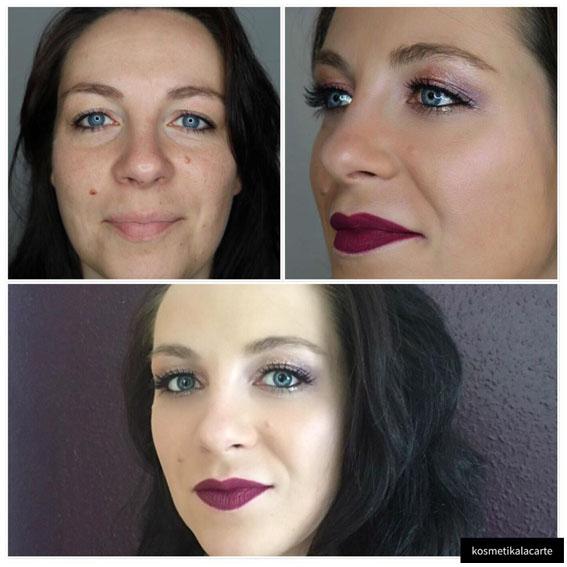 Nachher-Bild Tages-Make-up von Kosmetik à la carte